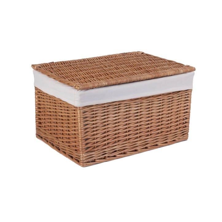 Light Steamed Storage Hamper, Extra Large