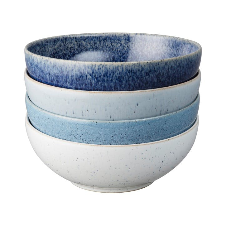 Studio Blue Set of 4 Cereal Bowls