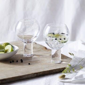 Halden, Set of Two Gin Glasses