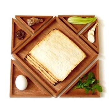 Puzzle Seder Plate