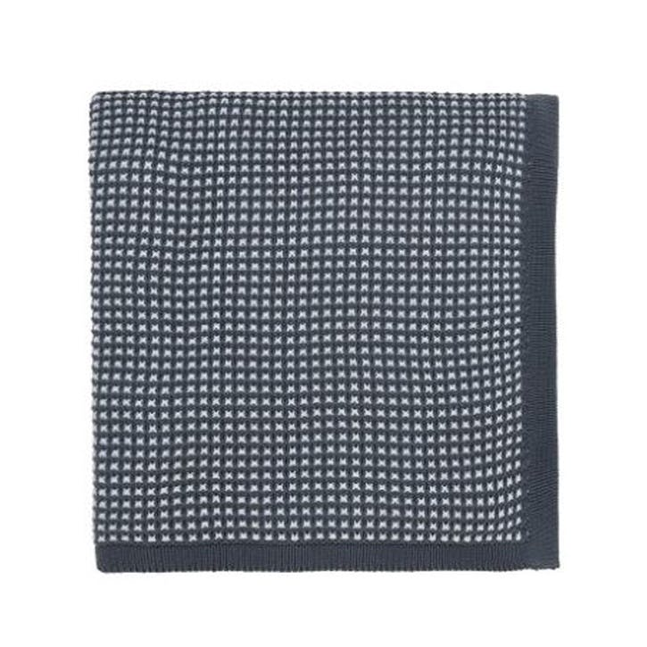 Nayara Knitted Throw, Blue