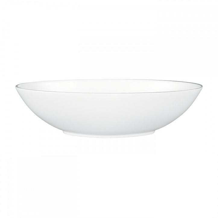 Platinum Serving Bowl, Oval