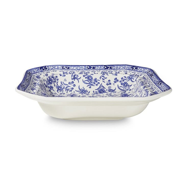 Regal Peacock Open Vegetable Dish, Blue