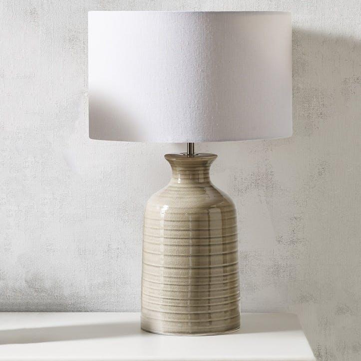 Ceramic Bottle Table Lamp, Large