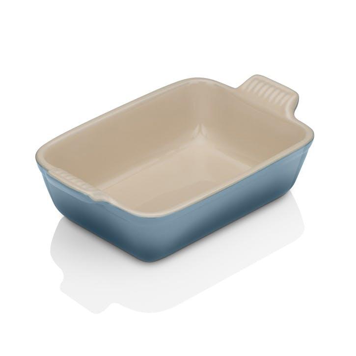 Stoneware Rectangular Dish - 19cm; Marine