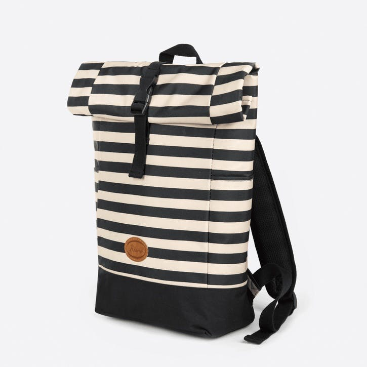 Bee Stripe Rolltop Cool Bag