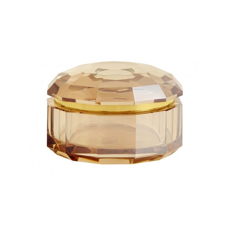 Blush Crystal Pot