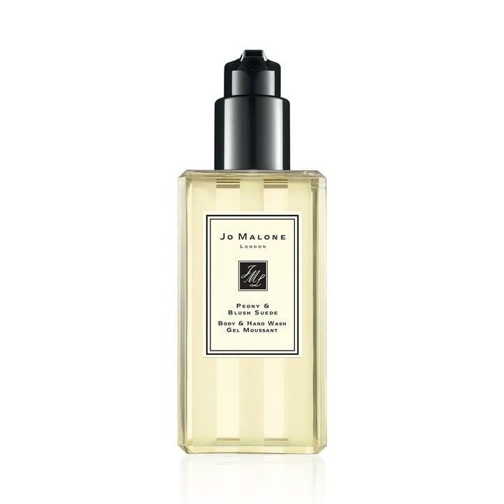 Body & Hand Wash, Peony & Blush Suede, 250ml