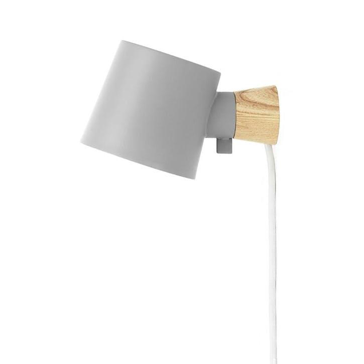 Rise Wall Light L17 x D10 x H9.7cm Grey