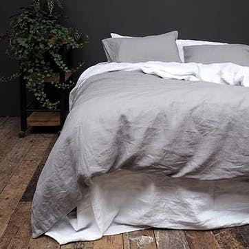 Bedding Bundle Super king with Super King Pillowcases Dove Grey