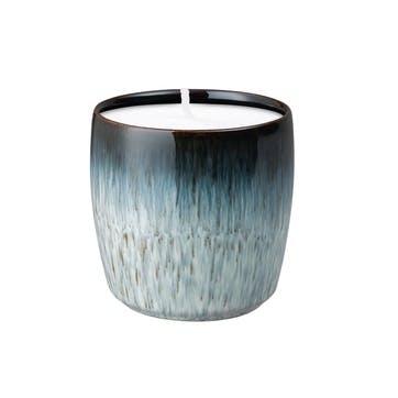 Home Fragrance Halo Candle Pot Black