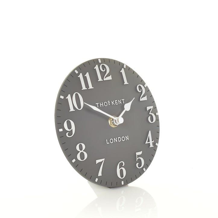 Arabic Mantel Clock, 15cm, Dolphin