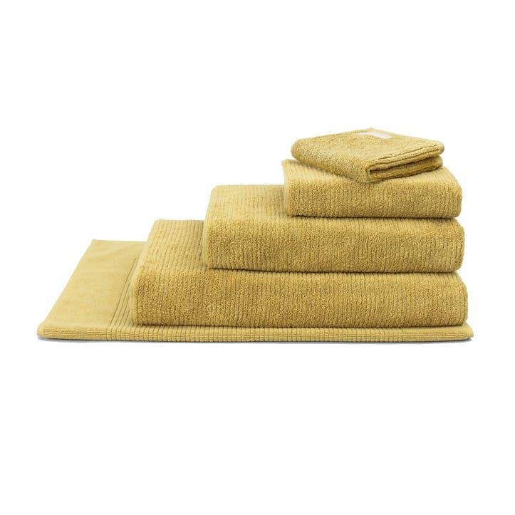 Living Textures Mustard Hand Towel