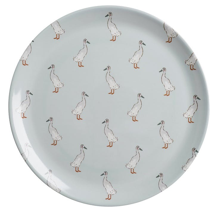 'Runner Duck' Melamine Dinner Plate