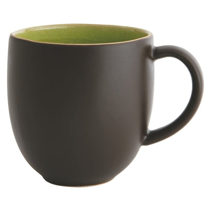 Sintra Mug, Black and Green