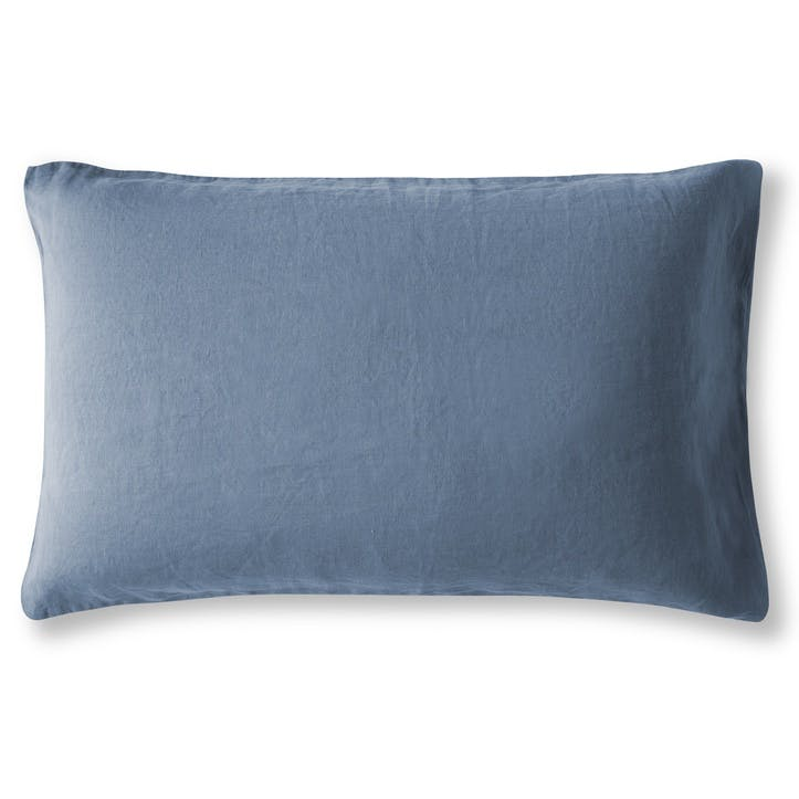 Housewife Pillowcase, Single, Parisian Blue