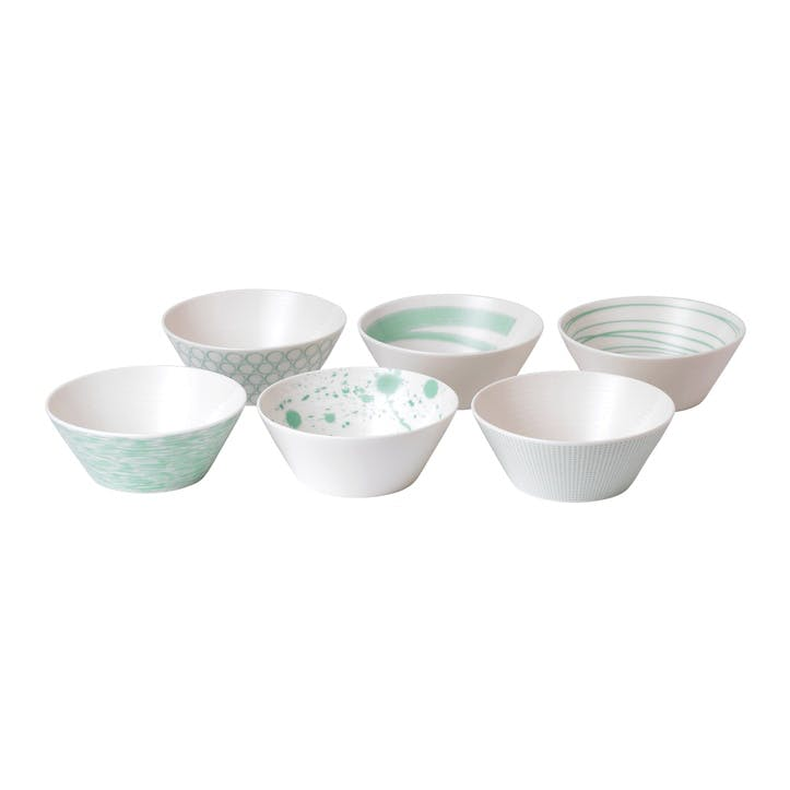 Pacific Mint Cereal Bowl, Set of 6