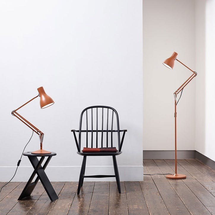 Type 75 Margaret Howell Floor Lamp, Sienna