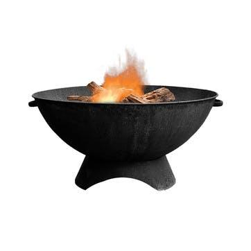 Artisan, Outdoor Firebowl, Black