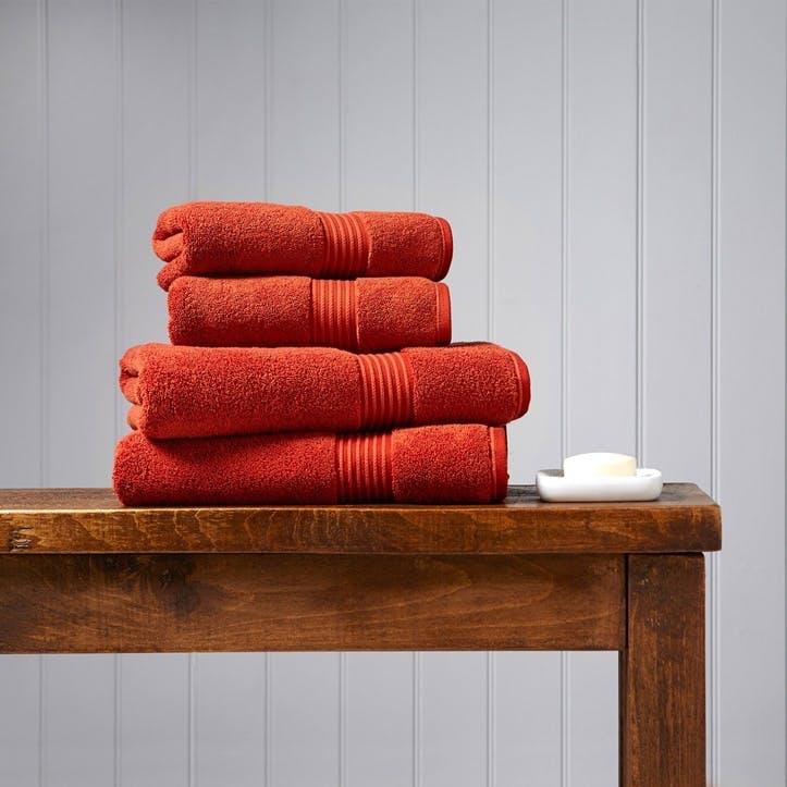 Supreme Supima Hygro Paprika Bath Towel