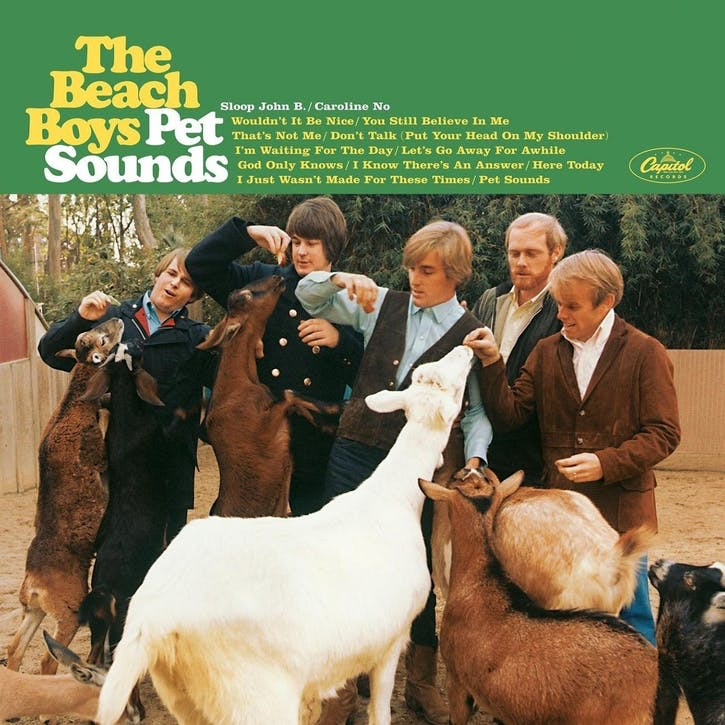 "The Beach Boys, Pet Sounds 12"" Vinyl"
