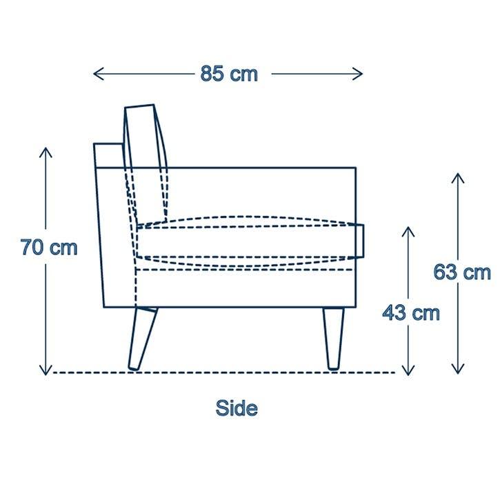 2 Seater Sofa, Model 01, Vine