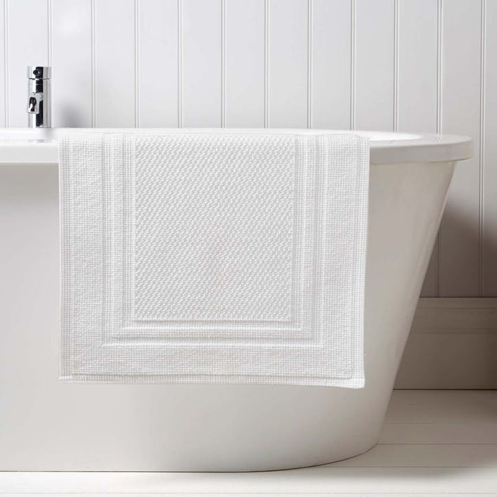 Fina Small Bath Mat, White