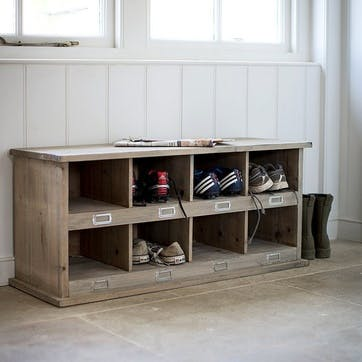 Chedworth 8 Shoe Locker
