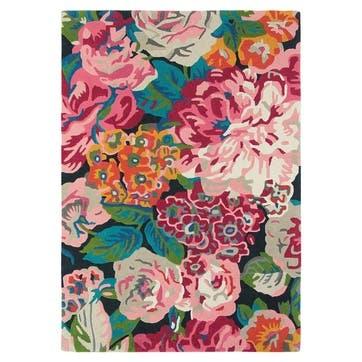 Rose & Peony Rug 170 x 240cm, Cerise