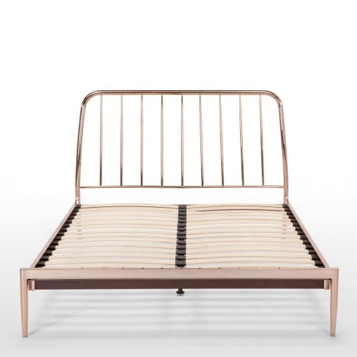 Alana Bed - Double; Copper