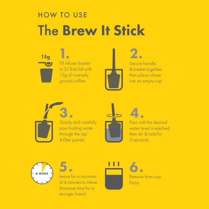 Made Simple Brew it Stick, Black