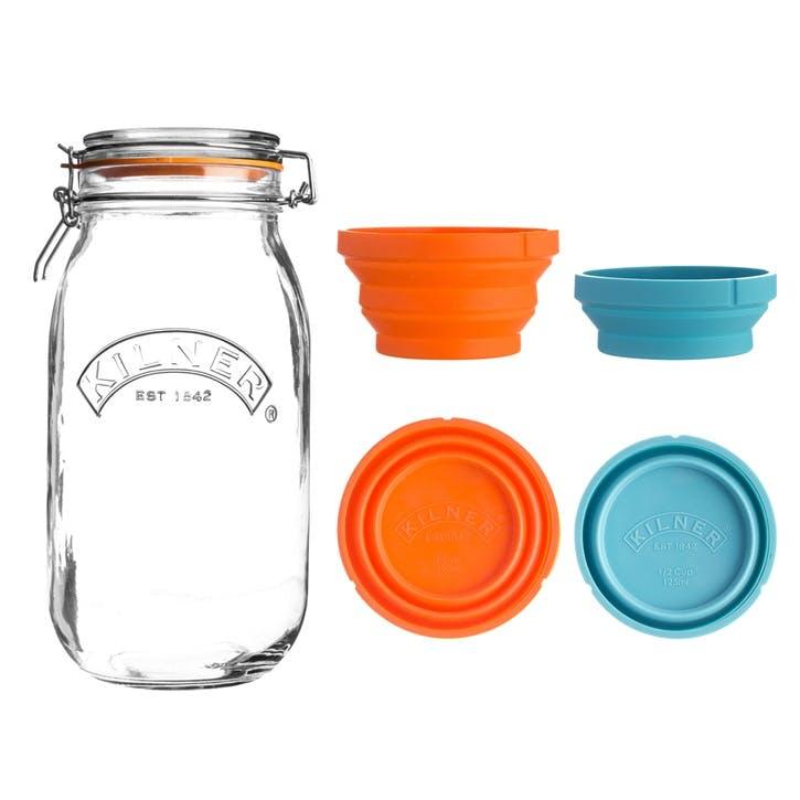 Measure And Store Jar Set, 3L