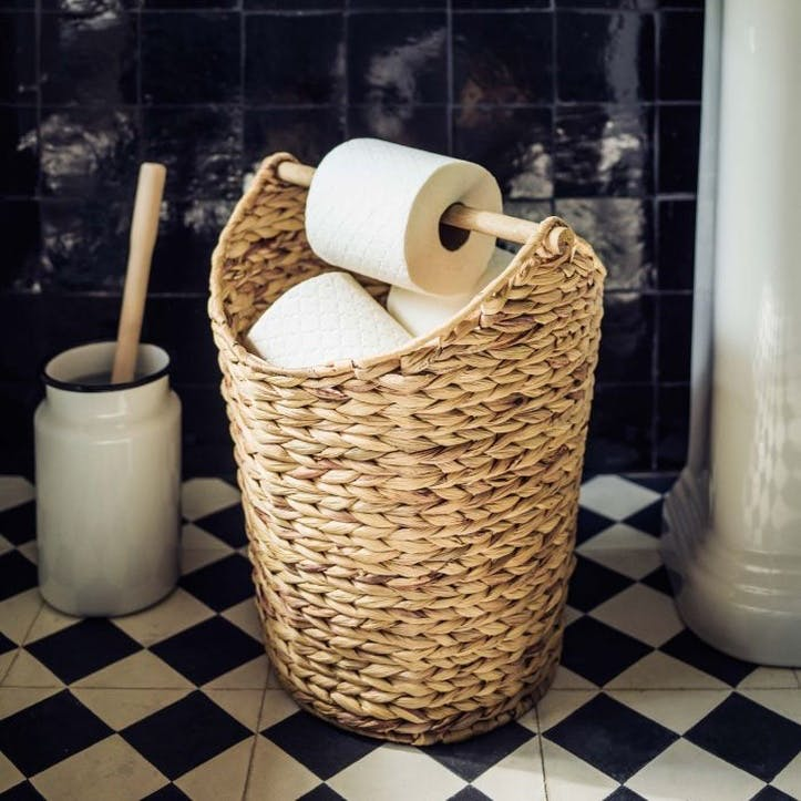 Wicker Toilet Roll Holder