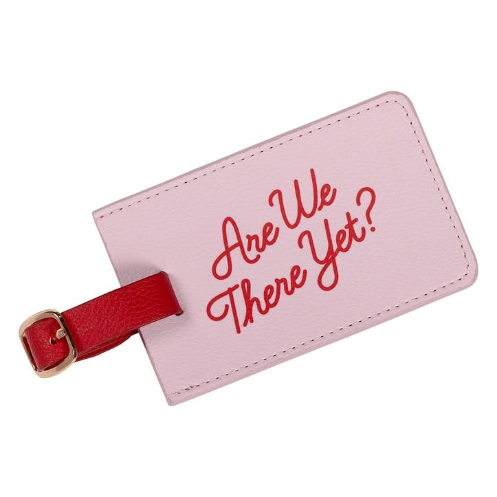 'Are we There Yet' Luggage Tag