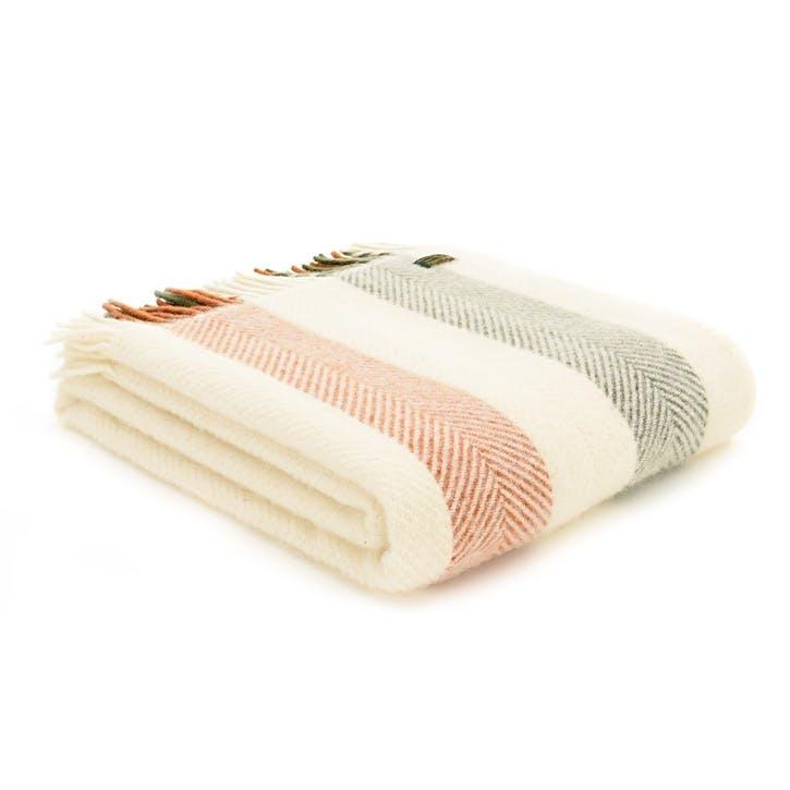 Stripe Blanket, Woodland
