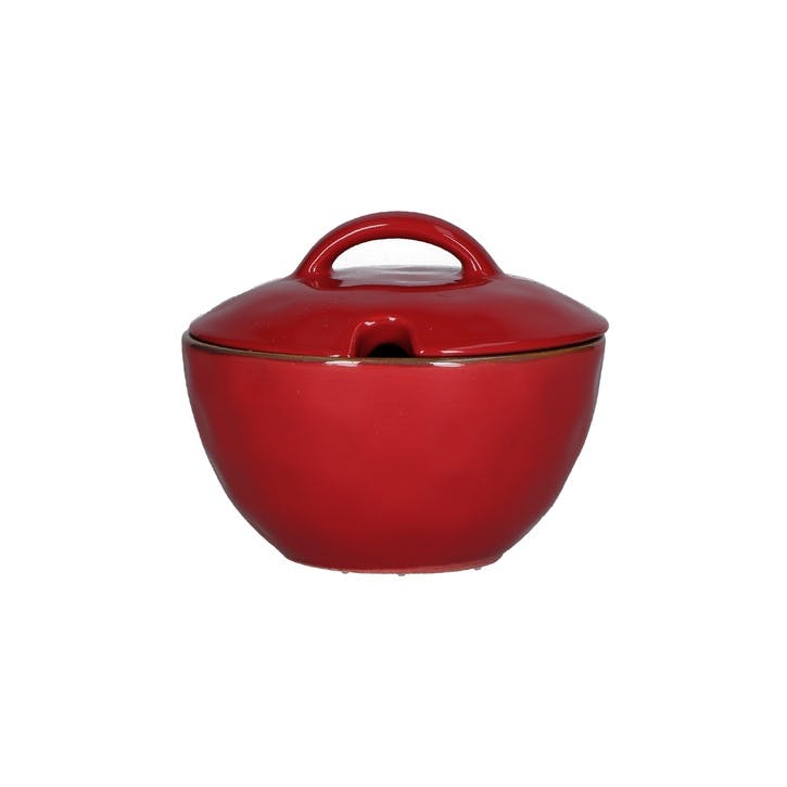Concerto Sugar Bowl, Fire Red