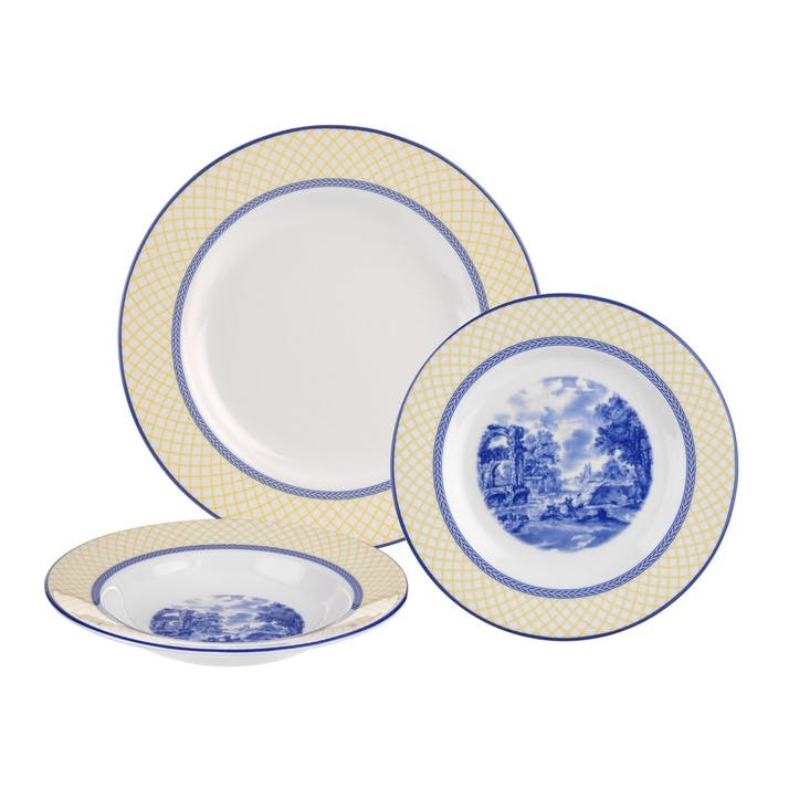 Giallo 3 Piece Dinner Set