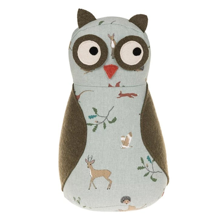 'Woodland' Owl Door Stop