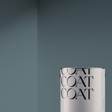 Flat Matt Wall & Ceiling Paint, Mr Clifton Dark Dusty Blue-Teal 2.5L