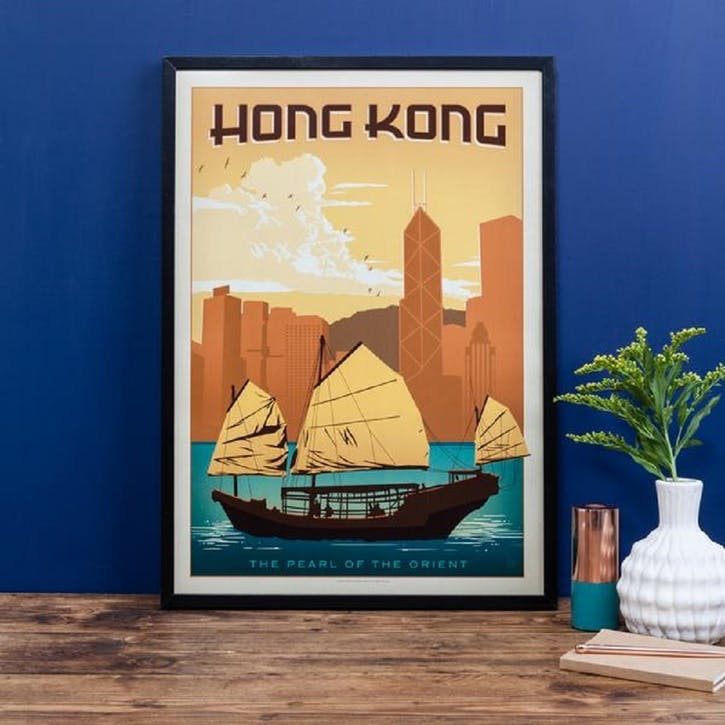 Hong Kong Print
