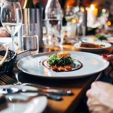 Honeymoon Dinner for Two £150