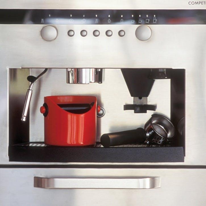 Grindenstein Coffee Knock Box, Red