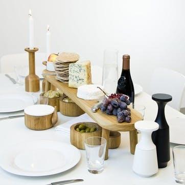 Big Feast 85 Serving Board, Natural Oak