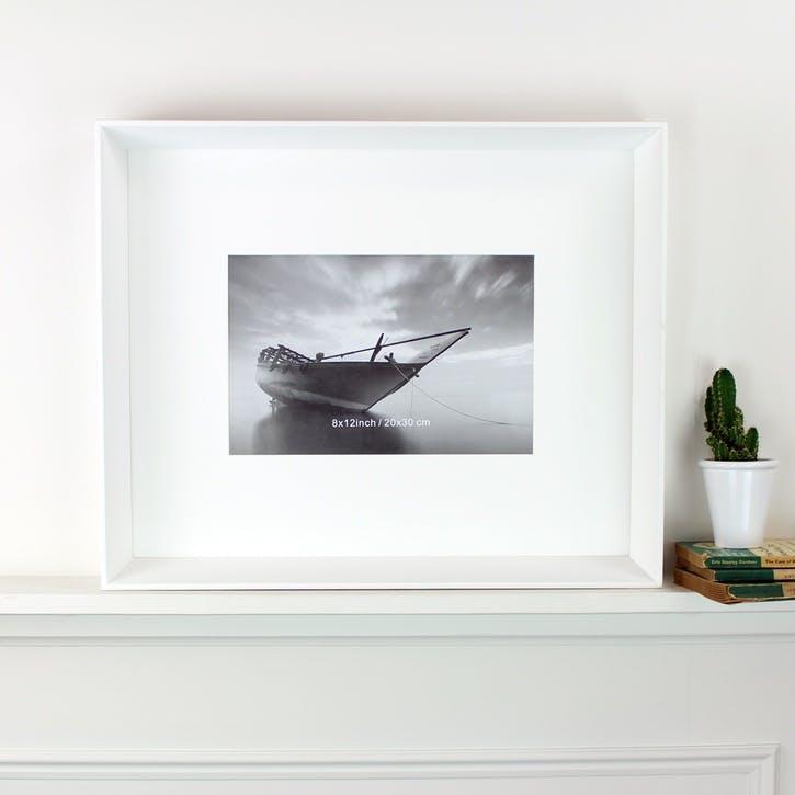 White Box Photoframe