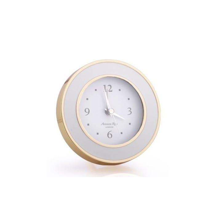 Alarm Clock; Chiffon & Gold