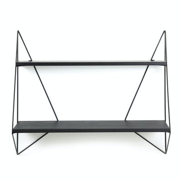 Butterfly Shelf, Large Shelf, Black