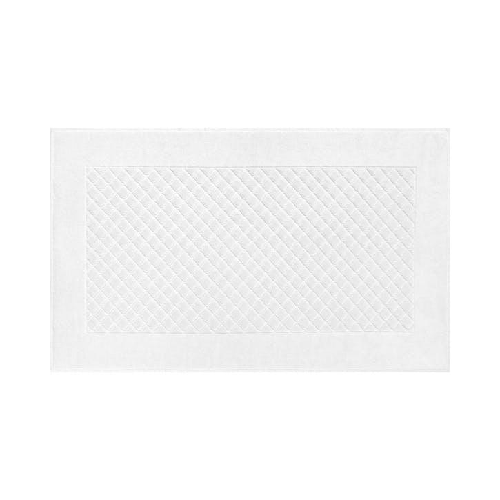 Etoile Bath Mat, Blanc