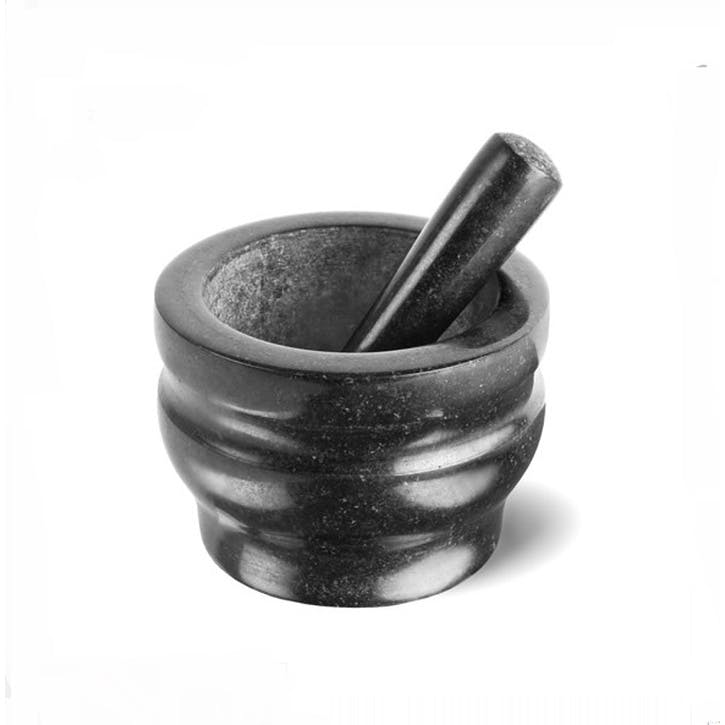 Granite Pestle & Mortar 14cm, Black