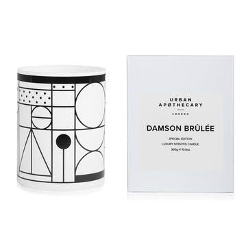 Damson Brûlée Luxury Candle, 300g