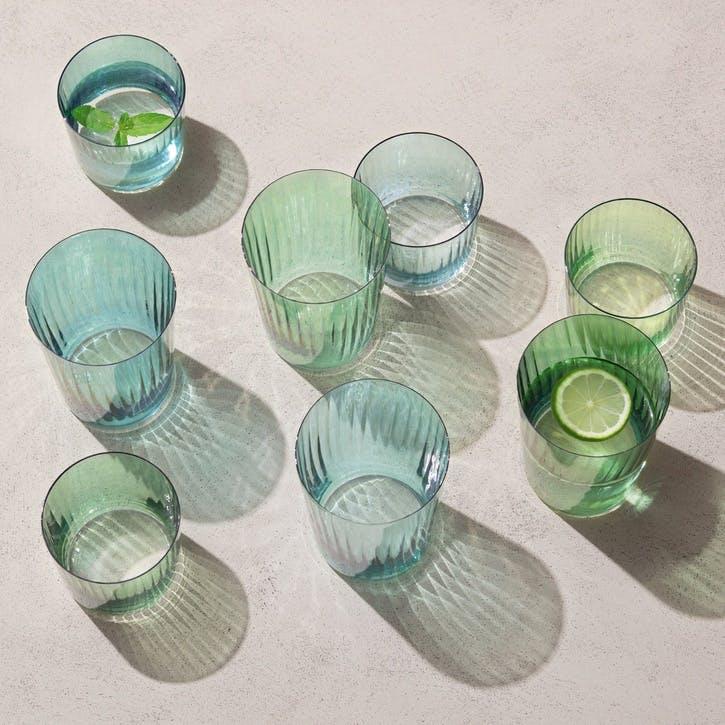 Gems Tumbler, Set of 4, Jade